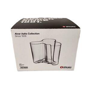 """Alvar Aalto Collection Vace Maljakko  4 3/4"""" - 120MM Clear - MALJAKKO"""