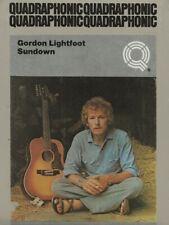 8 Track - Quadraphonic   Gordon Lightfoot   Sundown