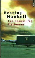 Livre Poche les chaussures italiennes Henning Mankell book
