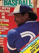 Toronto Blue Jays 2 Baseball Mags 88 Bell/Dawson 87 Barfield
