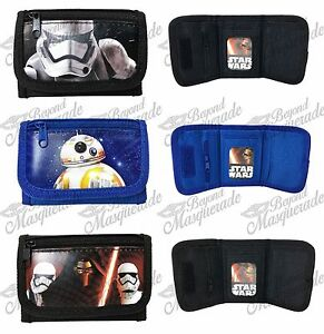 Disney Star Wars The Force Awakens Kids Tri-Fold Wallet Coin Purse