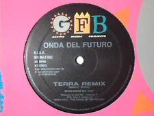 "ONDA DEL FUTURO Terra remix 12"" ITALY"