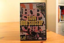 Bob Sinclar - Enjoy (2004) cd & dvd set rare house Africanism French deep