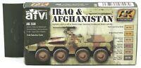 AK Interactive AK558 Iraq & Afganistan (AFV Series) Acrylic Paint Set Vehicles
