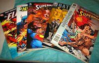 DC Marvel Trade Paperbacks - Batman Vol. 3 Fugitive, Death of Superman, Flash