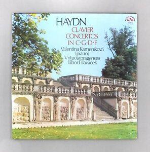 "Haydn - Clavier Concertos in C G D F - Hlavacek - NM UK 12"" Vinyl - 1 10 1861/2"