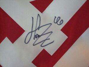 Henrik Zetterberg AUTOGRAPHED Detroit Red Wings REEBOK JERSEY SIGNED XXL