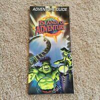 Vintage Universal Studios Florida Islands Of Adventure 2004 The Hulk Mint