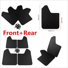 1Set Auto Car Front+Rear Plastic Mudflaps Mud Flap Splash Guard Fender Protector