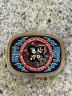 KISS 1977 ROCK AND ROLL OVER ALBUM PACIFICA BELT BUCKLE AUCOIN FROM ORDER FORM!