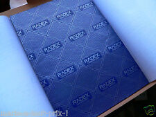 Lot de 10 feuilles papier carbone à main BLEU 21 x 29,7 A4