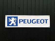 GRANDE 2 METRI PEUGEOT Auto Banner per garage / shop / l'articolo promozionale