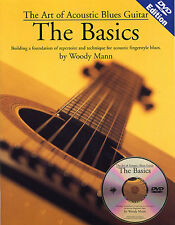 Art Of Acoustic Blues Guitar The Basics Learn to Play Music Book & DVD LESSON