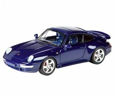 PORSCHE 991 (993) TURBO BLUE LIMITED TO 750PC 1/43 MODEL CAR BY SCHUCO 450887500