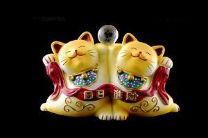 Katze Japanische Maneki Neko Japan Manekineko IN Harz 301 27 - 11 Bis