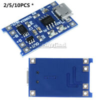 2/5/10PCS 5V 1A TP4056 USB 18650 Lithium Battery Charger Board Protection Module