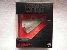 2015 Hasbro Disney Star Wars Titanium Black 24 Star Destroyer