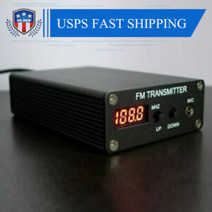 USA 1MW Stereo Home FM Transmitter FM Radio Transmitter Mini FM Radio Station
