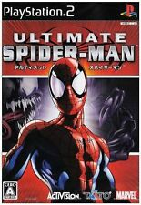 Used PS2 Ultimate Spider-Man  SONY PLAYSTATION JAPAN IMPORT