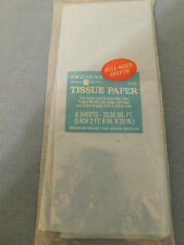Nip 8 Sheets Of Light Blue Tissue Paper-All Occasion Free Shipping In The Usa