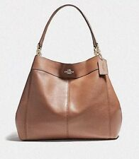 Brand New With Tags Coach Large Lexy Shoulder Handbag 23511 In Saddle