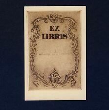 Exlibris Bookplate * GYULA CONRAD Budapest * Ornament