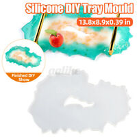 Large Silicone Tray Artist Mold Irregular Coasters Resin Art DIY Tray Mould