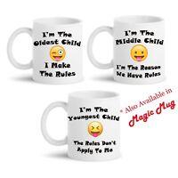 Siblings Funny Personalised Mug Tea Coffee Novelty Brother Sister Xmas Gift Idea