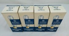 DCA Projector Projection Lamp Bulbs 150W 21V GE Lot Of 4 NOS
