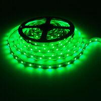 5M 3528 SMD Green 300 Led Strip Light non waterproof Car 12V 16.4ft Tape