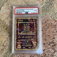 2000 Pokemon Game Promo Ancient Mew Card PSA 9 Mint - 2000 Movie