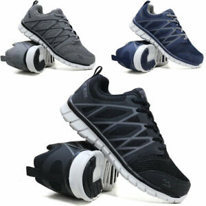 MENS SAFETY BOOTS NEW STEEL TOE CAP HIKING SHOES ANKLE HIKER TRAINER WORK BOOTS