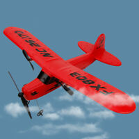 1× Red FX803 2.4G RC Airplane Helicopter 2CH Fixed Wing Aeroplane Glider Gift