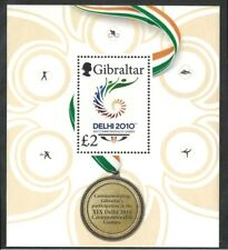 Gibraltar 2010 - Sports Commonwealth Games Delhi 2010 Emblem - Sc 1251 MNH