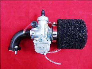Molkt 26mm Carb Kit For YX140cc Pit Bike Engine. Incs Manifold & Black Filter.
