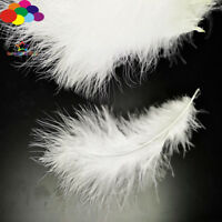 100 Pcs milk white Macarons Colors Turkey Feathers Fluff Dream Catcher Material