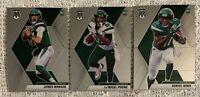 2020 Panini Mosaic JAMES MORGAN, La'MICAL PERINE, DENZEL MIMS Rookies *NY Jets