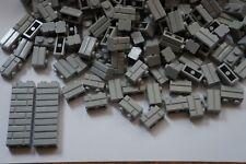 LEGO 100 x LIGHT GREY BRICKS 1x2  No 98283 - WALL PANEL- STAR WARS-CITY  RARE !