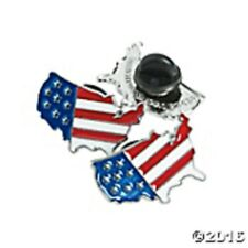 """12 United States Flag Print Pins 7/8"""" - Share your patriotism! Political Events"""