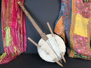 West African Handmade Tribal Kora Lute (Stringed Instrument) From Guinea Bissau