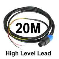 20M Neutrik Speakon High Level Lead for REL & MJ Subwoofer