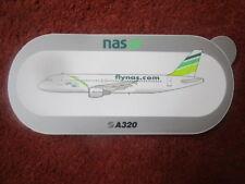 AUTOCOLLANT STICKER AUFKLEBER AIRBUS A320 NAS AIR FLYNAS AIRLINE SAUDI ARABIA
