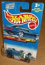 Hot Wheels 2000 #041 Tony Hawk Skate Series #1 of 4 Rigor Motor Blue White 5SPs