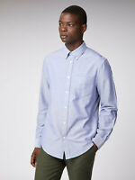 Ben Sherman Shirt - Ben Sherman Men's LS Core Oxford Shirt Navy