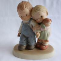 Vintage 1988 Enesco Memories of Yesterday Let's Be Nice Figurine