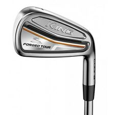 NEW COBRA KING FORGED TOUR IRON SET 4-P STEEL STIFF FLEX *AUTHORIZED DEALER*