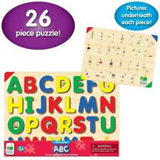 Puzzle Lift Learn ABC Learning Educational Alphabet Letters Kids NEW!