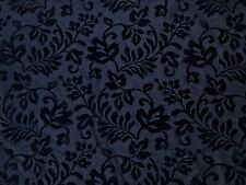 Black Symphony Floral Tafetán acuden Tejido Vestido Gótico Vintage Craft Couture