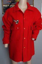 Vintage 15.2ms garçon SCOUTS rouge laine Camp T-shirt officiel VESTE 42
