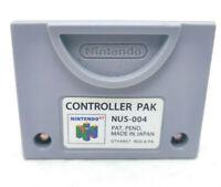 Nintendo 64 N64 Vintage Controller Pak Memory Card NUS-004 OEM Official TESTED